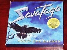 Savatage: Poets And Madmen Limited Edition CD Box Set 2001 Bonus Tracks + Poster