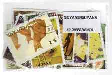 Guyana 50 timbres différents