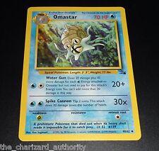 Omastar 40/62 Fossil Set Uncommon NEAR MINT Pokemon Card
