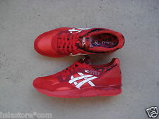 Women 's asics gel Lyte 5/v 44 Valentine' s Day red/white