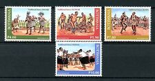 Botswana 2016 MNH Traditional Dance 4v Set Cultures & Traditions Stamps