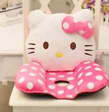"Hello Kitty Head Seat Back Cushion for Chair Car Office Cushion Pillow 16""-2"
