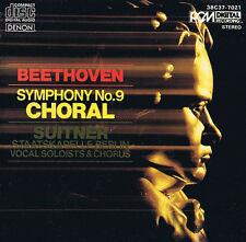 Beethoven Symphonie No.9 Choral Op.125 Suitner Staatskapelle Berlin CD Japan