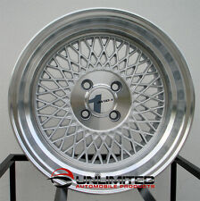 AVID.1 AV-18 15X8.5 ET 15 4X100 Silver wheels rims fit MK1 VW Golf