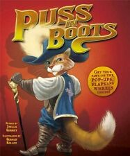 PUSS IN BOOTS by C. Perrault (2011, NEW Pop-Up Picture Book)