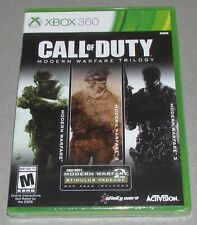 Call of Duty Modern Warfare Trilogy for Xbox 360 Brand New! Factory Sealed!
