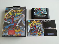 Spider-Man X-Men - Spiderman - Sega Megadrive - PAL FR - Complet - No Genesis