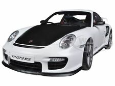 PORSCHE 911 (997) GT2 RS WHITE 1/18 DIECAST MODEL CAR BY AUTOART 77963