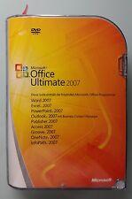 Office 2007 Ultimate Retailbox Win32 Deutsch Vollversion + Zweitlizenz 76H-00053