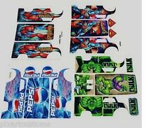 FOR HOT WHEELS CUSTOM DAIRY DELIVERY LOT OF 4 WATERSLIDE DECAL SETS 1:64