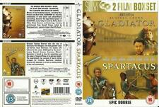 Gladiator / Spartacus Double Pack [DVD] 2006  Brand new and sealed
