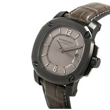 Burberry Men's The Britain AUTOMATIC Watch ALLIGATOR Strap BBY1208 $1995 NEW