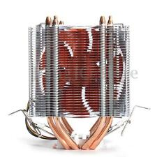 Copper 4 Heat Pipe CPU Cooler Heatsink Fan for Intel LGA1150 775 AMD Core i7 i5