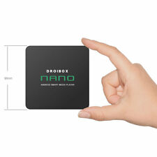 DROIBOX Nano Android 6.0 TV Box KODI 16.1 HD Media Player Quad Core 4K Streamer