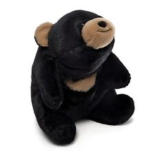 "GUND BLACK BEAR - 10""  HUGGABLE SNUFFLES -  #4043801 - RETIRED"