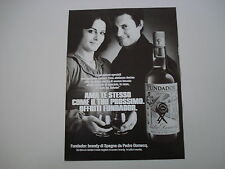 advertising Pubblicità 1979 BRANDY FUNDADOR