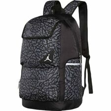 AIR JORDAN JUMPMAN PLAYOFF Backpack / Travel Bag Black Heather Youth School Bag