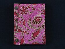 Indonesian Batik Fabric Covered Journal Composition Notebook