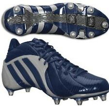 NEW ADIDAS PAYDIRT TD FLY LOW MID AMERICAN FOOTBALL MENS GREY BLUE CLEATS  FC7