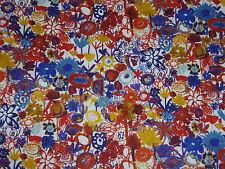 """LIBERTY OF LONDON TANA LAWN FABRIC """"Pinky"""" 2 METRES (200 cm) MULTI"""