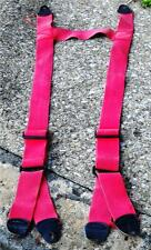 Globe Red H Style  Firemans Bunker Turnout Suspenders Fire Dex
