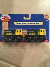 IRON ARRY & BERT Twin Diesels Thomas Wooden Railway New In Package
