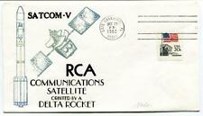 1982 Satcom-V RCA Communications Satellite Delta Rocket Cape Canaveral USA SAT