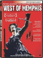 WEST OF MEMPHIS DVD  BRAND NEW, SEALED. FREE SHIPPING