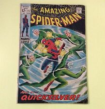 Amazing Spiderman  #71 1969  - The Speedster And The Spidey !