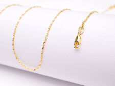 "1Pcs 20inch Wholesale 18K Yellow GOLD Filled ""STAR"" CHAIN NECKLACEs For Pendant"