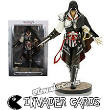 Assassins Creed Ezio Auditore Collection Black Edition Limited Figure New Boxed