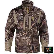 BROWNING DIRTY BIRD SOFT SHELL PULLOVER JACKET COAT REALTREE MAX-5 CAMO LARGE