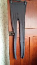 Ladies tights, grey, big size to fit tall lady, new no tag