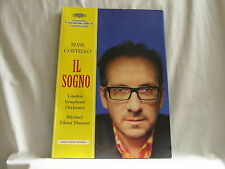 ELVIS COSTELLO Il Sogno promo only press kit + magazine + CD