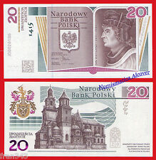 POLONIA POLAND 20 Zlotych 2015 Commemorative  Pick  NEW   SC / UNC