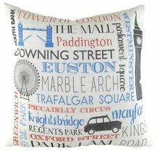 "17"" London Angleterre UK Emplacements Coussin Evans Lichfield DPA678 43cm"