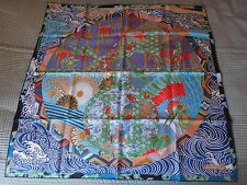 "NEW HERMES SCARF ""EX LIBRIS EN KIMONOS''- BRAND NEW WITH BOX"