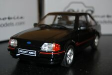 FORD ESCORT XR3 MK4 BLACK NOIR 1/18  Die cast car Voiture miniature