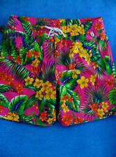 Polo Ralph Lauren Pink Hawaiian Design Board Shorts Swim Suit Trunks Mens 34 New