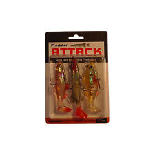 """3 X 4"""" SOFT JELLY LURES STRIPER PACK"""