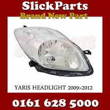 TOYOTA YARIS FARO 2009 2010 2011 2012 Chrome * NUOVO *