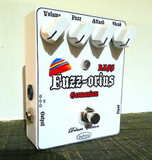 Rafferty DODGE fuzzorius Germanium Fuzz Pedale dei bassi [VIDEO DEMO all'interno]