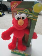 """Elmo Pose A Pal  9"""" Elmo by Fisher Price New in Box"""