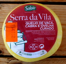 190 gr / 6,70 oz Portuguese COW,SHEEP and GOAT CHEESE (Serra da Vila - Saloio)