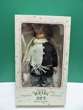 Heidi Ott Handmade Boy with Scarf Doll In Original Box No UPC