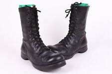 VTG CORCORON LEATHER COMBAT JUMP BOOTS CAP TOE USA MENS 8 D
