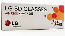 2 Pairs LG 3D TV Theater 3d Glasses AG-F200 LW5600 LW5700 LW6500 + Other TV