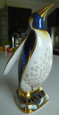 BNIB Royal Crown Derby Fine Bone China Figurine Emperor Penguin