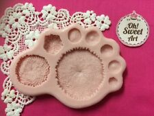 Flower center silicone mold fondant cake decorating food soap cupcake topper FDA
