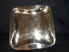 VINTAGE COLLECTABLE OLD HALL EP COPPER ASHTRAY PIN DISH 1977 SILVER JUBILEE